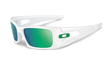 Oakley Crankcase polished white/jade iridium